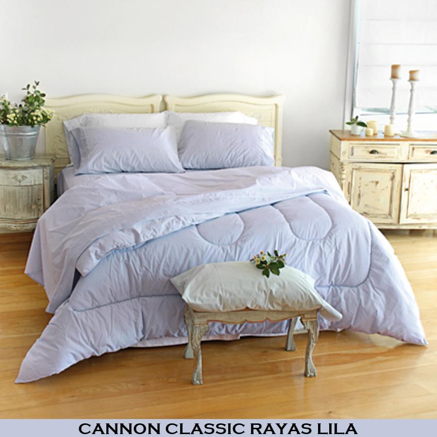 Ropa de cama gemela a rayas negras